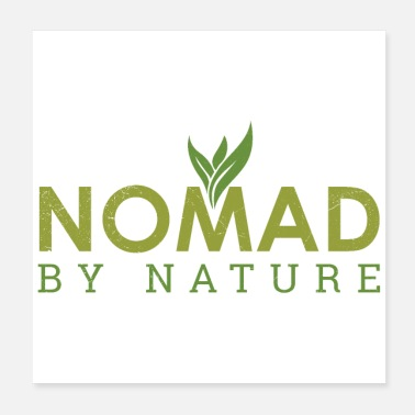 Self Employed Nomad by nature Freelancer Entrepreneur Gift Idea - Poster