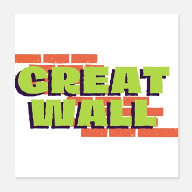 Wall GREAT WALL - Poster