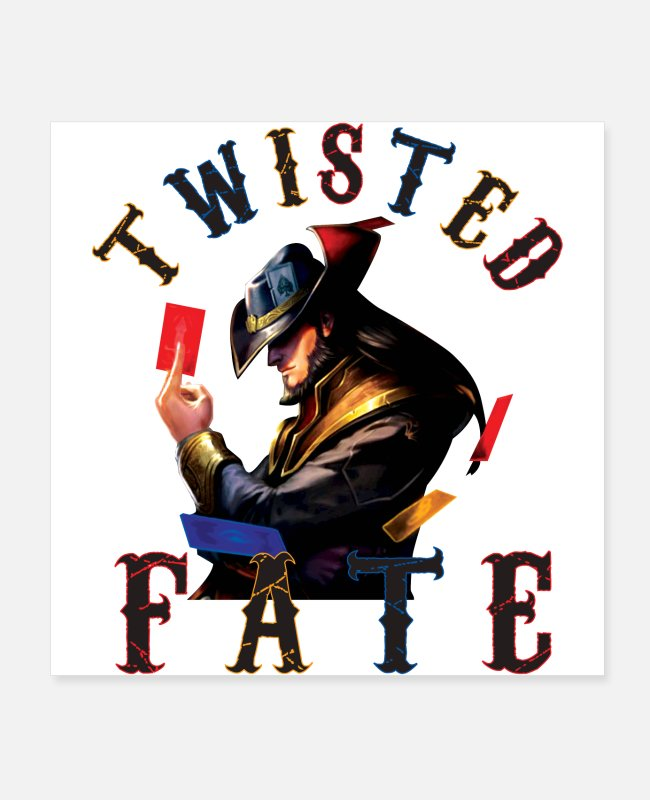 Video Game Posters - Twisted Fate - Posters white