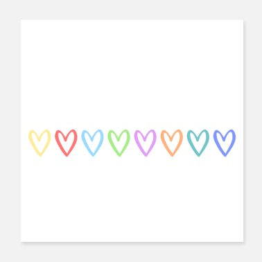 Marriage Equality Treat people with kindness (white) - Poster