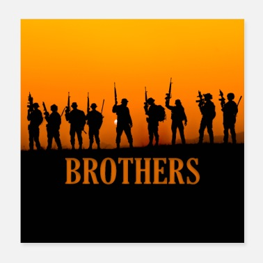 Airforce Military Brothers - Poster