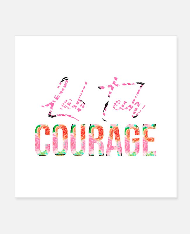 Lover Posters - Lab Tech Courage - Posters white