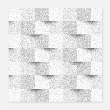 Visual Illusion visual illusion | DiffusionDither - Poster