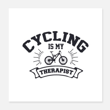 Bicyclette cycologist - Poster