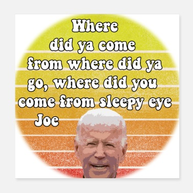 Eye Patch Sleepy Eye Joe - Poster