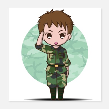 Army Cute army - Poster