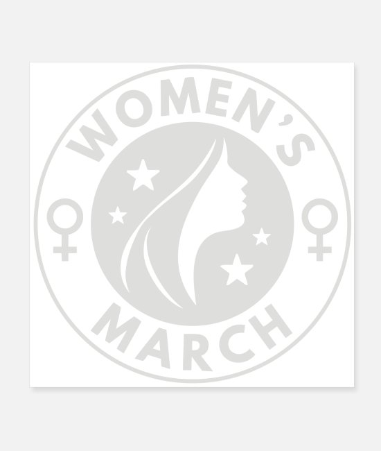 Womens Basketball Posters - Women s March - Posters white