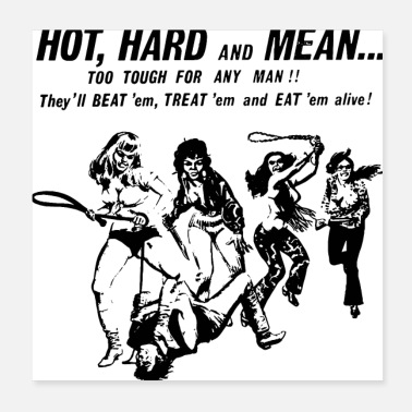 Dirty HOT HARD MEAN - Poster