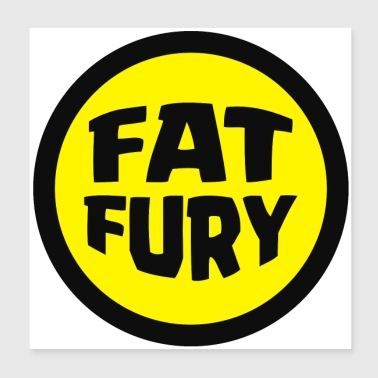 Fat Fury Herbie - Poster 8x8