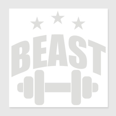 Beast In Training - Poster 8x8