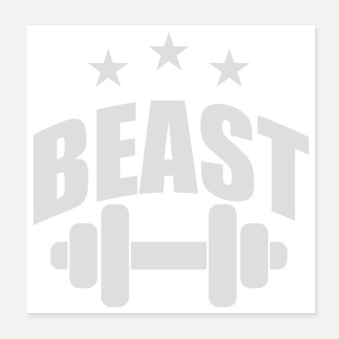 Beast Beast In Training - Poster