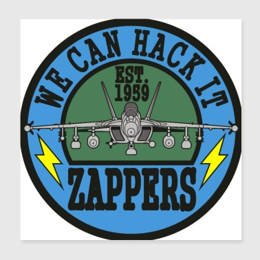 Growler VAQ-130 Zappers - Poster 8x8