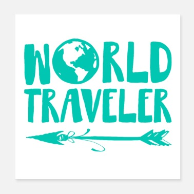 Latin America World Traveler - Poster