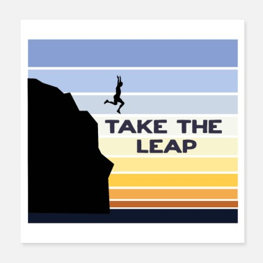 Take Take the leap - Poster