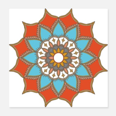 Tool MANDALA COLORFUL ART DESIGN T-SHIRTS AND GIFTS - Poster