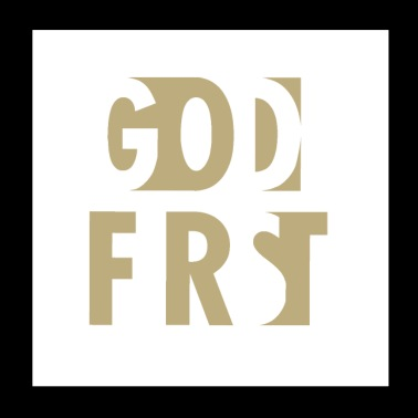 Christian,God first - Poster 8x8