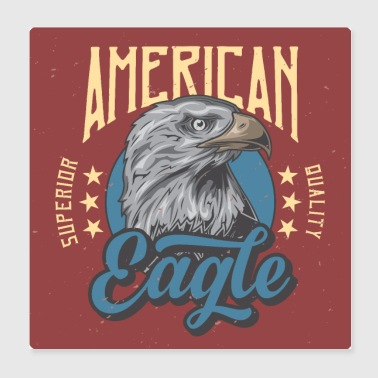 American eagle - Poster 8x8
