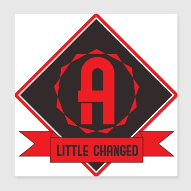 little changed - Poster 8x8