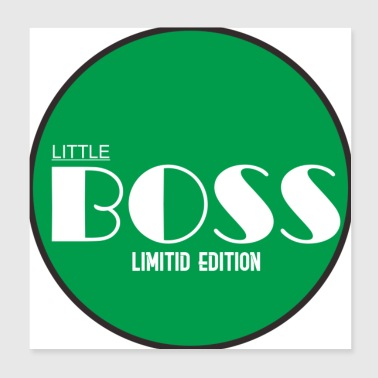 boss little - Poster 8x8