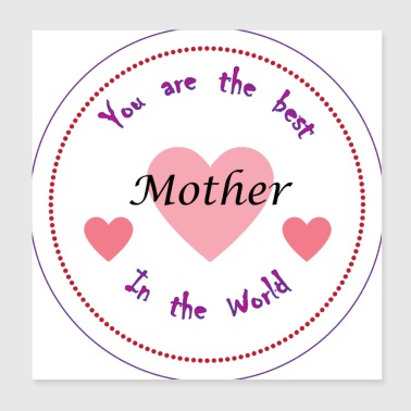 Best Mother in the World - Poster 8x8