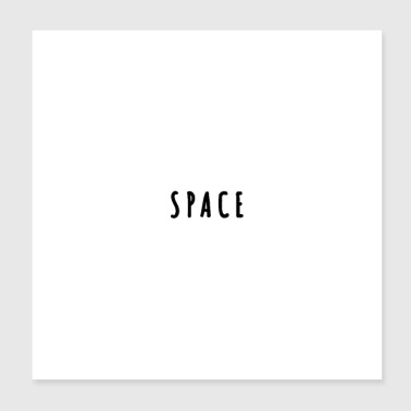 Space - Poster 8x8