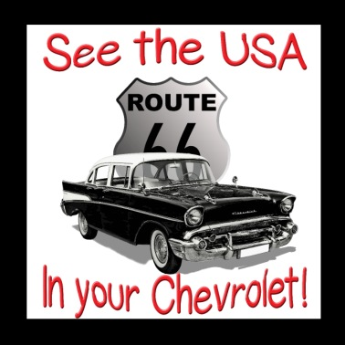 See The USA In Your Chevrolet! - Poster 8x8