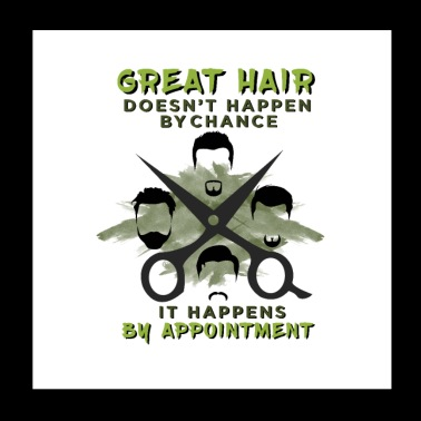 Haircutter Barber Cut Barbershop Hair Stylist Gift - Poster 8x8