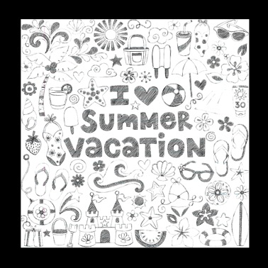 summer vacation - Poster 8x8