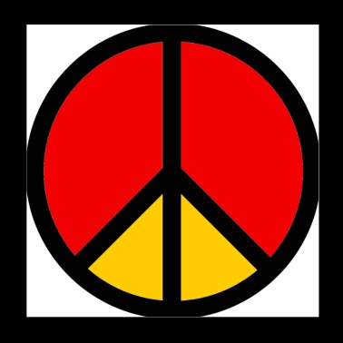 Peace Sign - Poster 8x8