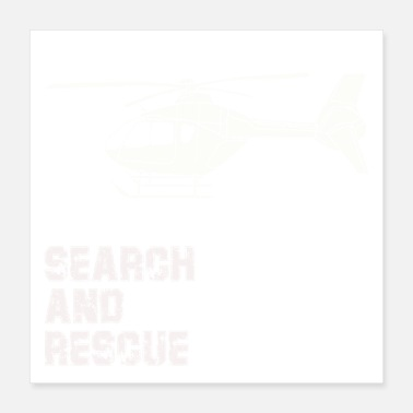 Rescue Search and Rescue Gift - Poster