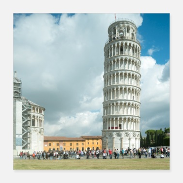 Tuscany Leaning tower of Pisa Tuscany - Poster 16x16
