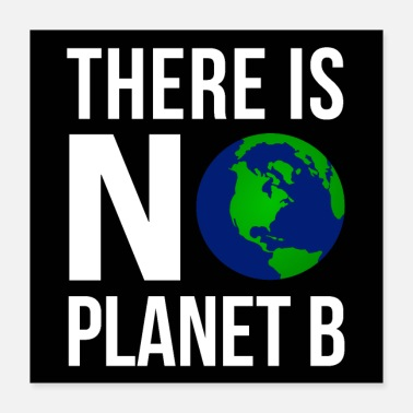 Climate Change There Is No Planeb B - Earth Day | Poster - Poster