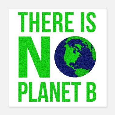 Climate Change There Is No Planet B - Poster