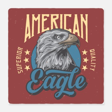 American Football American eagle - Poster 16x16