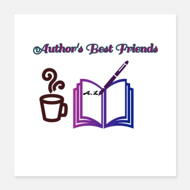 Pen Author's Best Friends - Poster 16x16