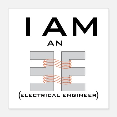 Electricity ELECTRICAL ENGINEERx - Poster 16x16
