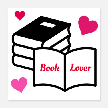 Expression Book Lover - Poster 16x16