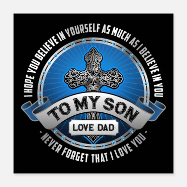 Son To My Son From Dad - Poster