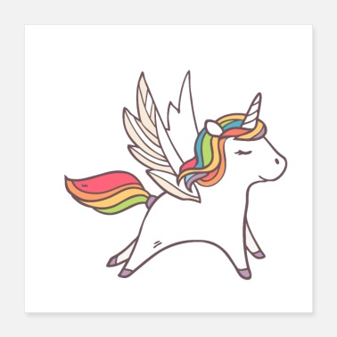 Children sweet unicorn - Poster 16x16