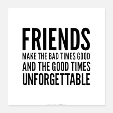 Friend friends - Poster 16x16