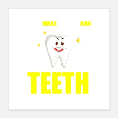 Teeshirts smile teeth - Poster
