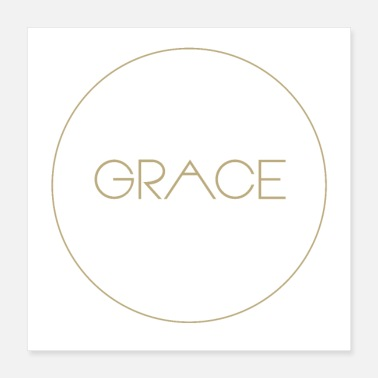 Bible Grace Christian Bible - Poster 16x16