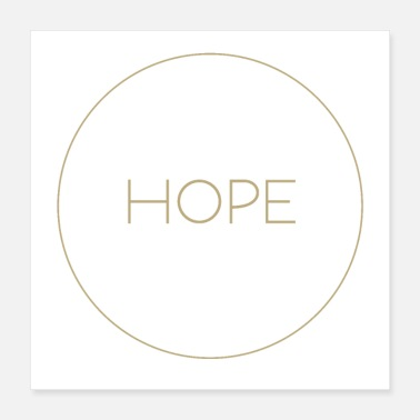 Bible hope Christian Bible - Poster 16x16