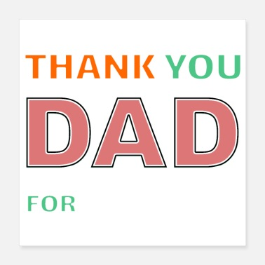 Fathers Day Father's Day - Poster 16x16