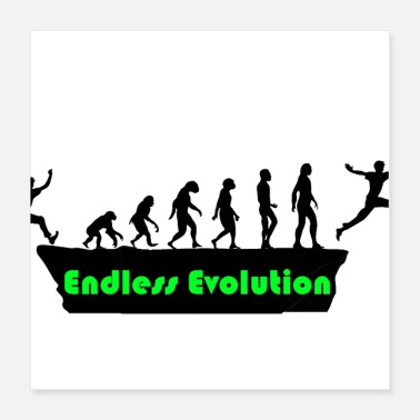 Evolutionary History Endless Evolution - Poster