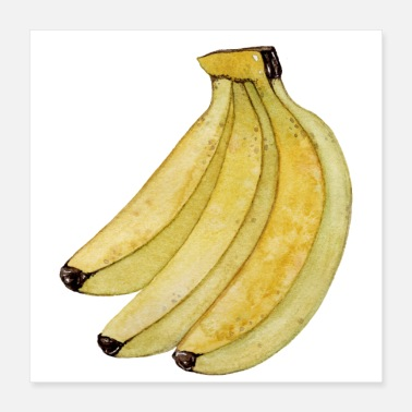 shop banana posters online spreadshirt