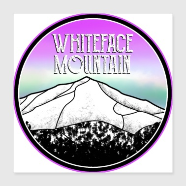 Whiteface Mountain New York - Poster 16x16