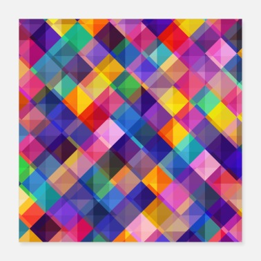 Pattern abstract Pattern - Poster 16x16