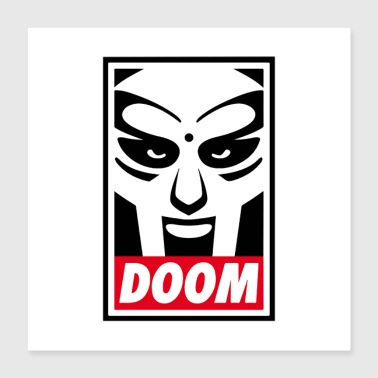 Rap mf doom - Poster 16x16