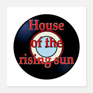 Hits Oldies Hit Song Titles House of the Rising Sun - Poster 16x16